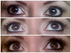 This is a real photo of my own lashes!  The first pix is no mascara, the second regular mascara and the third is my 3D fiber lashes.  This product is nothing short of AMAZING!!  It's as easy to apply as mascara, safe for contact lens wearers.  I will NEVER go back to regular mascara!  Best 29.00 I ever spent.  And I love it so much I became an Independent Presenter for Younique.  Try this amazing product today:  www.youniqueproducts.com/SuziSimmons