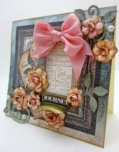 Pinkcloud Scrappers: My Thoughts...Heartfelt Creations Wednesday