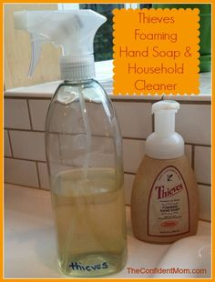 Thieves Household cleaner works for all cleaning duties - from counters, floors, laundry, washing fruits and vegetables to toilets.