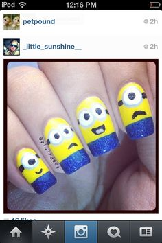 Awesome nails!!!! Got it from Instagram! Wish these were mine!!!!