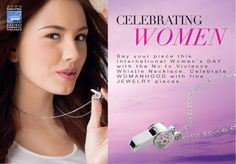 Speak Out Against Domestic Violence with Avon  The company for women celebrates International Women's Day with the launch of the No to Violence whistle necklace and lotion to help fund the cause