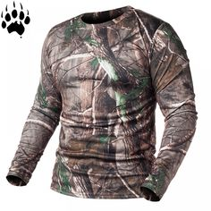 Refire Gear Spring Long Sleeve Tactical Camouflage T-Shirt Men Soldiers Combat M Tactical T Shirts, Types Of T Shirts, Gym Outfit Men, Camouflage T Shirts, Army Shirts, Sweater Shirt, Shirt Men, Winter Hoodies, Fashion Leaders