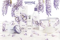 L'Amande - Glicine Photo: www.luisapuccini.it Packaging: www.pinxitadv.it