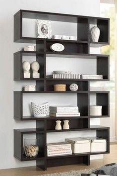Bookshelves Decorating Ideas for Living Room_48