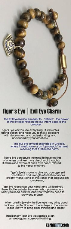 #BEADED #Yoga #BRACELETS - ♛ #Tigers #Eye lets you see everything. It stimulates taking action and is a #totem of good luck. #Chakra #gifts #Macrame #Stretch #Womens #jewelry #Tony #Robbins #Eckhart #Tolle #Crystals #Energy #gifts #Handmade #Healing #Kun http://kundaliniyogameditation.com/