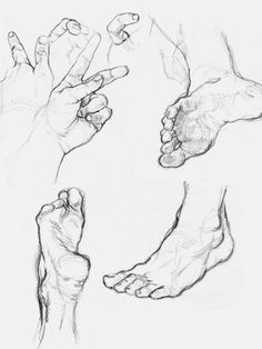 always good to brush up on hands and feet!