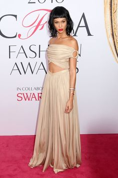 From the red-carpet arrivals to Beyoncé collecting her award, catch up on the pictures from last night's ceremony Cfda Awards, Joan Smalls, Celebrity Photos, Beyonce, Red Carpet, Formal Dresses, Celebrities, Beauty, Collection