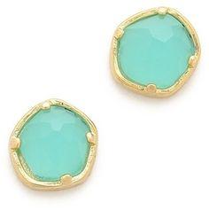 Tai Stone Stud Earrings on shopstyle.com