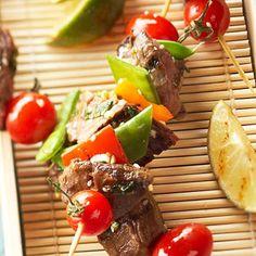 Sesame Beef Kabobs