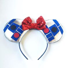 A personal favorite from my Etsy shop https://www.etsy.com/listing/246480406/r2d2-star-wars-ears-r2d2-disney-inspired