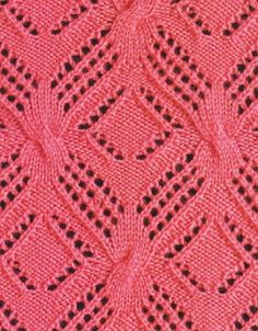 Фантазийный узор спицами, not in English, but has tons of knitting patterns with graph!!