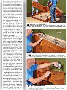 Build Murphy Bed - Furniture Plans