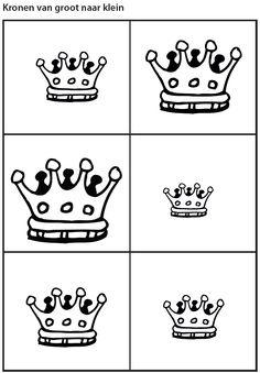 Afbeeldingsresultaat Voor Verjaardagskroon Kleurplaat