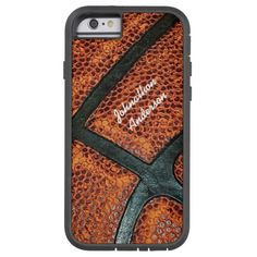 Old Retro Basketball Pattern With Name Tough Xtreme iPhone 6 Case http://www.zazzle.com/old_retro_basketball_pattern_with_name_case-256435421248735137?rf=238675983783752015