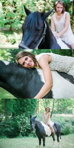Sherman Valley Ranch bridal photos with a horse photos by Jenny Storment Photography a Tacoma wedding photographer-15