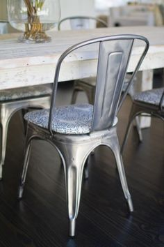 Rounded Chair Or Stool Cushion For Metal Chairs And Stools
