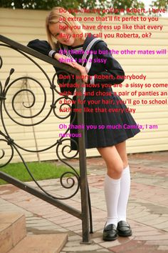 I was so lucky to have a great Aunty who helped me to be a girl! All Girls School, School Girl Dress, Prissy Sissy, Sissy Boy, Imper Pvc, Petticoated Boys, Girly Captions, Humiliation Captions, Womanless Beauty Pageant