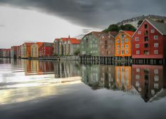 Norway -The Old Viking village in Bergen Norway..Totally Amazing!  Fresh Seafood sold dockside and its delicious!