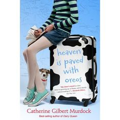 """Fourteen-year-old Sarah Zorn intends to spend the Wisconsin summer with her """"boyfriend"""" Curtis, waiting for a dead calf named Boris to de. Dairy Queen, Oreo, Humor Books, Heaven, Boyfriend, Wisconsin, Waiting, Summer, Sky"""