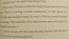 I love Thorne so much<----admit it!they are practically brother and sister!And door frames hurt.