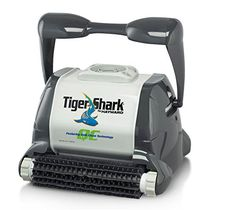 Hayward TigerShark QC Automatic Robotic Pool Cleaner with Quick Clean Technology Perfect for residential pools up to x Quick Clean Best Robotic Pool Cleaner, Best Automatic Pool Cleaner, Pool Vacuum Cleaner, Vacuum Cleaners, Swimming Pool Cleaners, Swimming Pools, Best Pool Vacuum, Best Above Ground Pool, Clean Technology