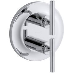 kohler purist polished chrome 2handle bathtub and shower faucet trim