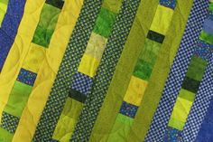 Quilt to Give/Make a quilt from scarps | Nancy Zieman Blog