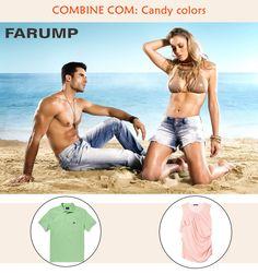 Dica para esse verão: combine seu jeans Farump com artigos que seguem a tendência das candy colors!