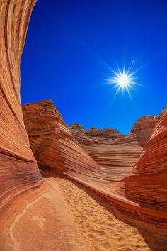 The Wave - Arizona/Utah Border