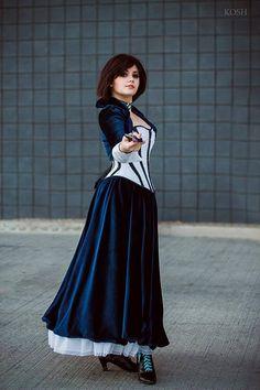 Cosplayer: Helen Alice Cosplay Character: Elizabeth Comstock From: Bioshock Infinite