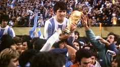 World Cup winners Argentina 1978