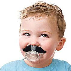 Moustache Baby Pacifier! $10.98