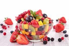 fruit salad in bowl