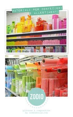 Carte fantasia, packaging, nastri, coccarde...tanto e di più, per impreziosire i tuoi pacchetti regalo! Ph: Isabo design