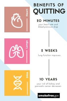 benefits most of the major parts of the body. The benefits may even begin within the first 20 minutes. Learn more about how becoming affects your body. Nicotine Patch, Quit Smoking Tips, Smoking Cessation, Body Organs, Blood Pressure, Immune System, Benefit, Teeth, Cancer