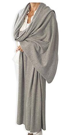 Cashmere Wrap - Light Grey by Catherine Robinson