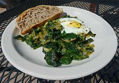 Persian Spinach and Eggs