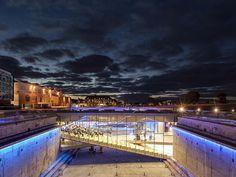 """2015 Los arquitectos daneses decidieron construir dentro de la propia dársena del puerto de Helsingor, convirtiéndola en pieza principal de la proipa colección del museo. Como diceTony Chapman, miembro del jurado, """"a veces la mejor decisión es romper las reglas del concurso"""".  RASMUS HJORTSHOJ"""