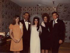 Priscilla Presley and family