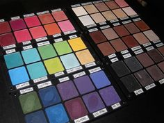 Inglot Eyeshadow Swatches | TINAMARIEONLINE