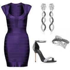 """BANDAGE DRESS"" by amanda-chastinet on Polyvore"