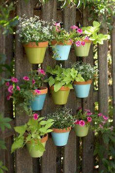 DIY – kleurrijke bloembak