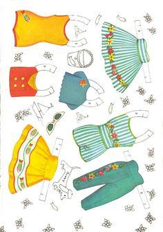 Petite Paper Dolls and Costumes, #4474 Saalfield 1960s (8 of 10)    sabine llorens   Álbumes web de Picasa