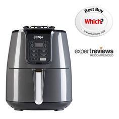 Ninja Air Fryer AF100UK - Ninja Kitchen Homemade Jerky, Air Fryer French Fries, Ninja Kitchen, Vegetable Crisps, Crispy Chicken Wings, Dehydrated Food, Ceramic Coating, Beef Jerky