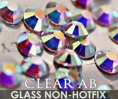 Super Clear AB SS3 SS48 Nails Art Rhinestones