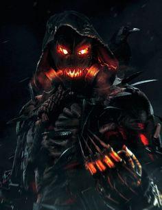 The Bat Blog | league-of-extraordinarycomics: Scarecrow by Aiko...