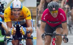At the age of Miguel Indurain, five times winner of the Tour de France, is still a strong time trialist. Cycling, Age, Baseball Cards, Boots, Making A Difference, Sports, Crotch Boots, Biking, Heeled Boots