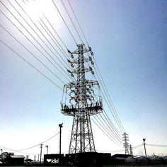 ツスニ053鉄塔  全容  #鉄塔 #steeltower #pylon by sea_may_2