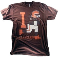 8 Bit Apparel rocks!  And so do the Cleveland Browns!