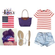 """Fourth Of July Outfit.""   Adorable!"